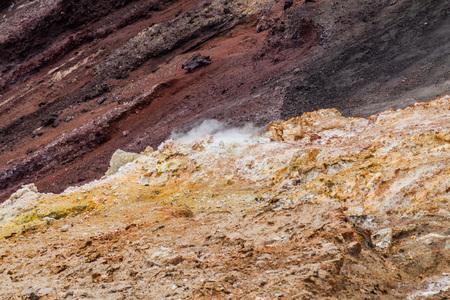 Fumarole at Cerro Negro volcano, Nicaragua Reklamní fotografie
