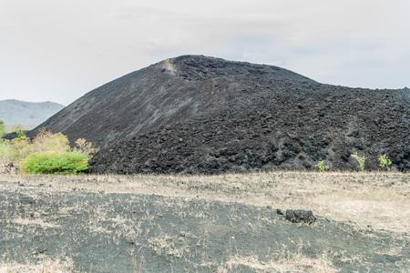 Cerro Negro volcano, Nicaragua Reklamní fotografie