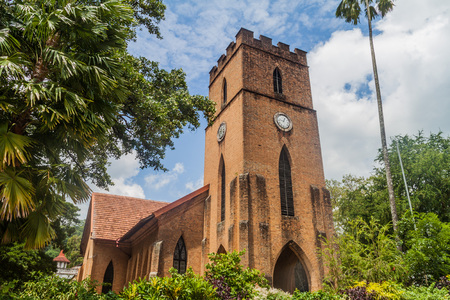 Anglican St. Pauls church in Kandy, Sri Lanka Stock Photo