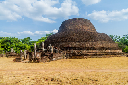 Pabula Vihara (Parakramabahu Vihara) in the ancient city Polonnaruwa, Sri Lanka