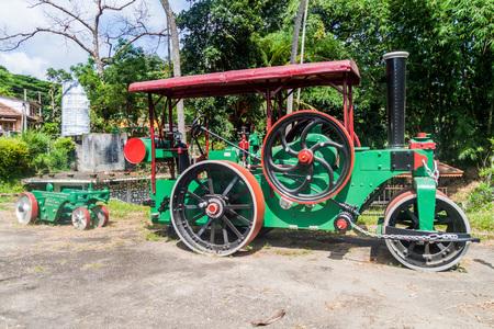 KANDY, SRI LANKA - JULY 18, 2016: Exhibit at the Highway Museum near Kandy, Sri Lanka.