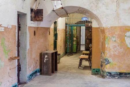 TALLINN, ESTONIA - AUGUST 23, 2016: Interior of the Patarei (former sea fortress and prison) in Tallinn, Estonia. Éditoriale
