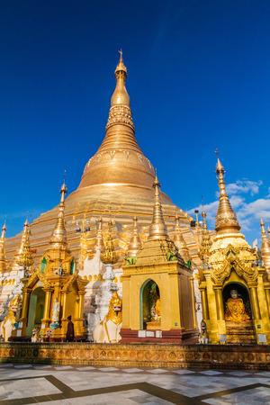 Shwedagon Paya Pagoda in Yangon, Myanmar