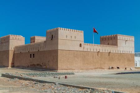 Al Ayjah Fort in Sur, Oman 新聞圖片