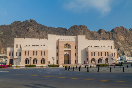 National Museum in Muscat, Oman