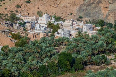 Village in Wadi Tiwi, Oman
