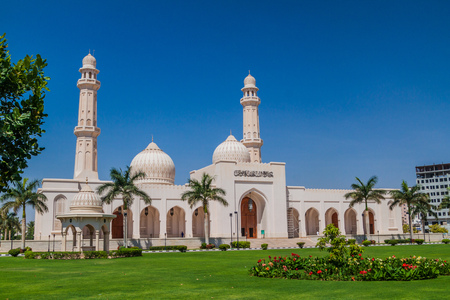 Sultan Qaboos Mosque in Salalah, Oman
