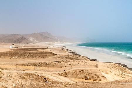Mughsail beach, Oman Фото со стока