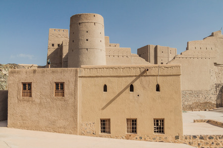 Buildings of Bahla Fort, Oman
