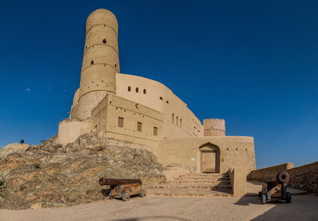 View of Bahla Fort, Oman
