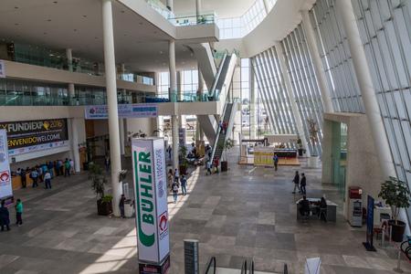QUERETARO, MEXICO: OCTOBER 7, 2016: Building of the Centro de Congresos Queretaro, multipurpose convention center in Queretaro, Mexico