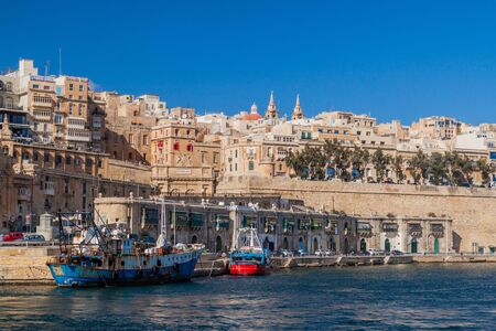 Skyline of Valletta, capital of Malta