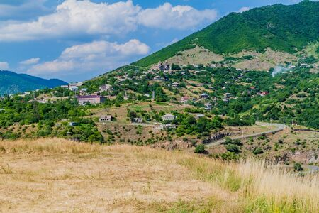 View of Haghpat village in Armenia