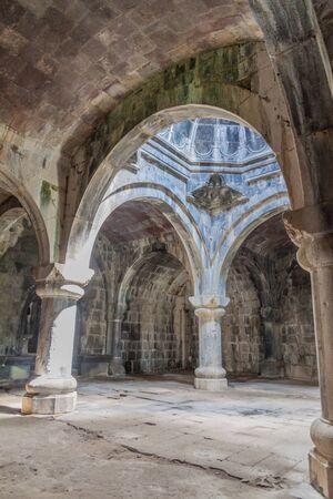 Interior of Haghpat monastery in Armenia Reklamní fotografie