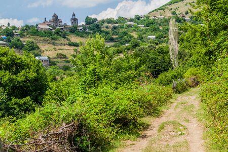 Path to Haghpat village and monastery in Armenia Reklamní fotografie