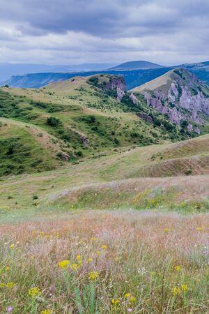 Pastures near Goris town, Armenia