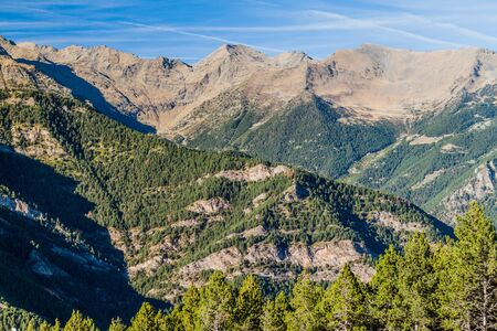 View of mountains in Andorra