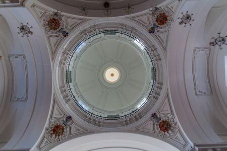 Cupola of Jesuit Church (San Ildefonso) in Toledo, Spain Reklamní fotografie