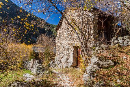 Stone house in Madriu-Perafita-Claror Valley, Andorra