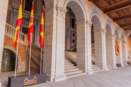 Staircase in the Alcazar of Toledo, Spain Reklamní fotografie