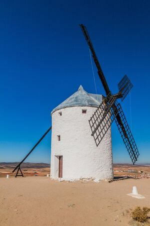 Windmill in Consuegra village, Spain