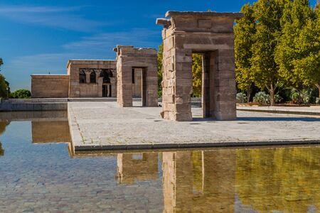 Templo de Debod temple in Madrid, Spain Reklamní fotografie