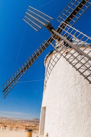 One of windmills in Consuegra village, Spain