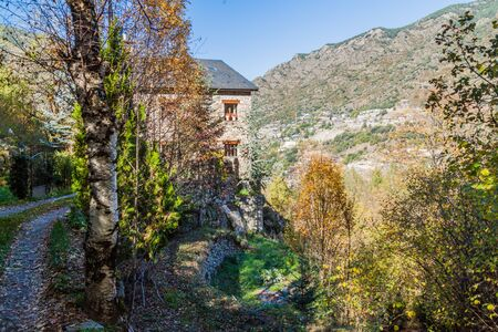 Rural stone house in Andorra