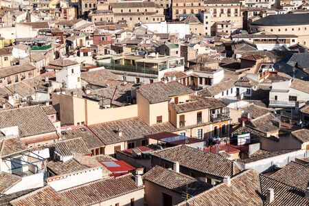 Roofs of the old town in Toledo, Spain