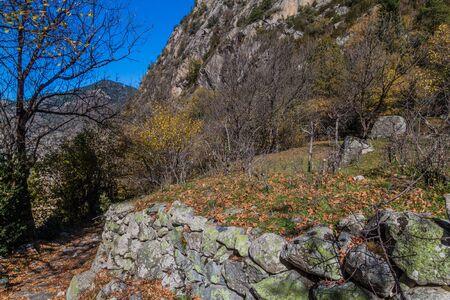 Landscape of Madriu-Perafita-Claror Valley, Andorra Reklamní fotografie