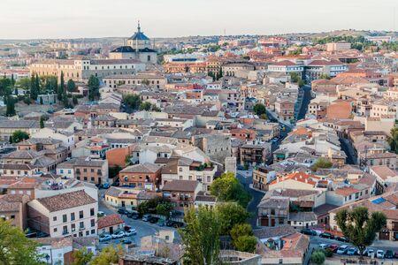 Cityscape of Toledo city, Spain