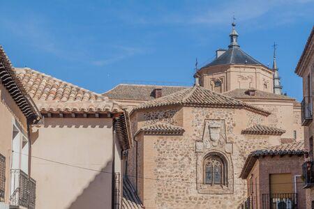 Cupolas of El Salvador and San Marco churches in Toledo, Spain Zdjęcie Seryjne
