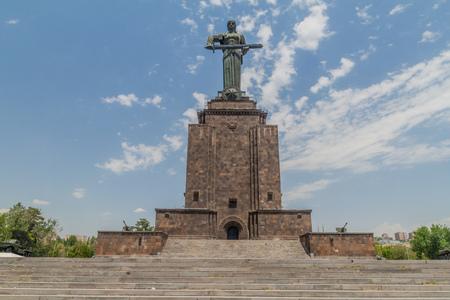 YEREVAN, ARMENIA - JULY 5, 2017: Mother Armenia monument in Yerevan, Armenia Sajtókép