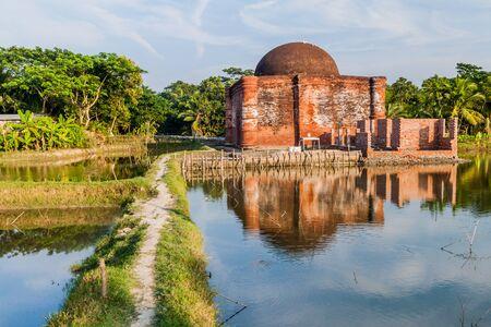 Chunakhola (Chuna Khola) mosque in Bagerhat, Bangladesh Stockfoto