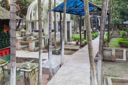 Small cemetery in Old Dhaka, Bangladesh