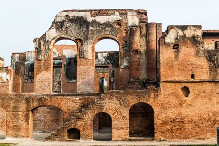 Ruins of the Residency Complex in Lucknow, Uttar Pradesh state, India