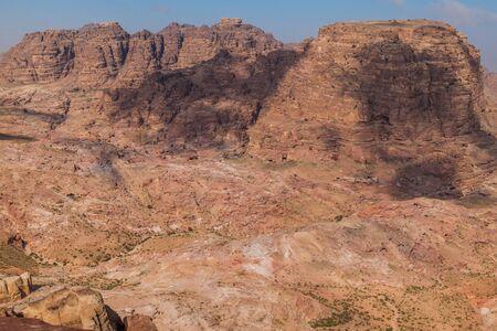 Landscape of the ancient city Petra, Jordan