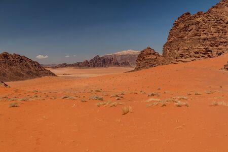 Landscape of Wadi Rum desert, Jordan