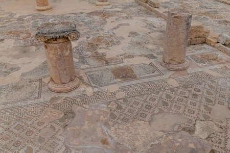 Church of Bishop Isaiah at the ancient city Jerash, Jordan
