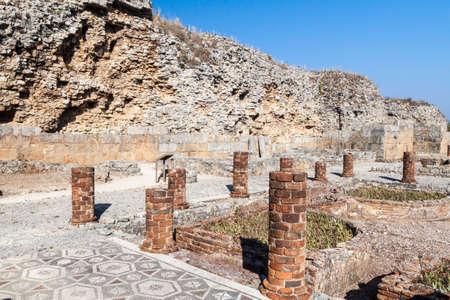 View of Conimbriga Roman ruins, Portugal