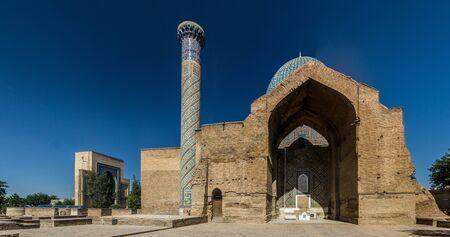 Gur-e Amir Mausoleum in Samarkand, Uzbekistan