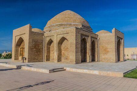 Chorsu market in Shahrisabz, Uzbekistan