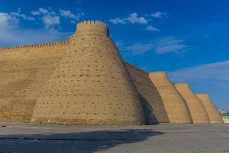 Ark of Bukhara fortification walls, Uzbekistan
