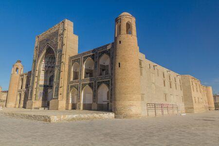 Abdulaziz Khan Madrasa in Bukhara, Uzbekistan