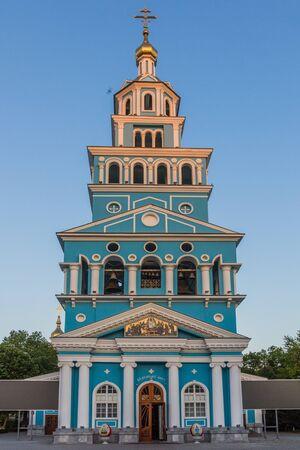 Holy Assumption Cathedral in Tashkent, Uzbekistan