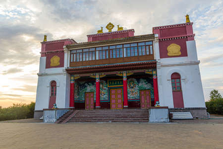Syakusn Syume, Geden Sheddup Choikorling Monastery, Tibetan Buddhist monastery in Elista, Republic of Kalmykia, Russia
