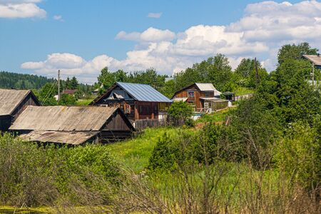Village in Perm Krai, Russia