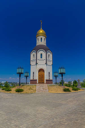 Church of Our Lady of Vladimir at the Mamayev Hill in Volgograd, Russia.