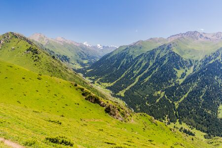 Ak Su valley near Karakol, Kyrgyzstan