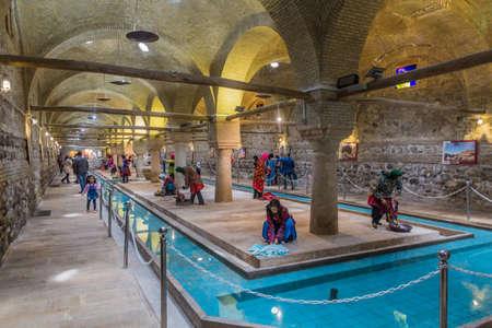 ZANJAN, IRAN - APRIL 13, 2018: Rakhtshoykhaneh (Rakhatshor Khaneh) Museum of an ancient wash house in Zanjan, Iran.